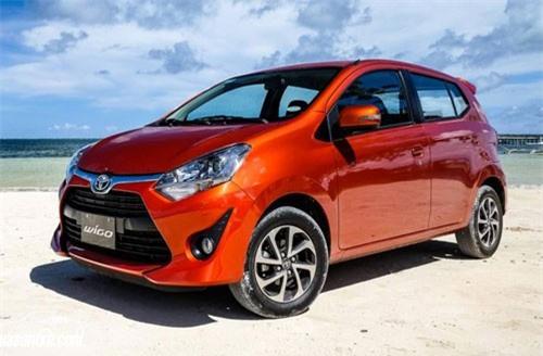 Toyota Wigo.