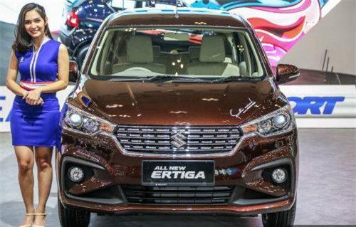 Suzuki Ertiga thế hệ thứ hai.