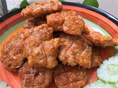 Cách làm món thịt băm viên nướng