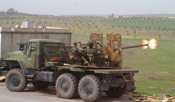 Quân đội Syria nã tên lửa tới tấp vào Hama, đập tan pháo đài của khủng bố
