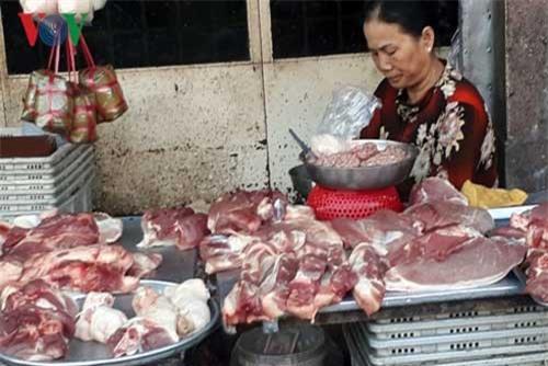 Thị trường sau Tết: Giá thịt heo tăng, sức mua giảm 20%