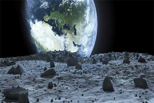 Viễn cảnh kinh dị khi Mặt trăng rơi xuống Trái đất