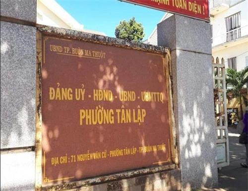 Đắk Lắk: Người đàn ông đang có vợ vẫn được phường cấp giấy đăng ký kết hôn