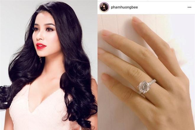 Rò rỉ thông tin về danh tính vị hôn phu giàu có của Hoa hậu Phạm Hương