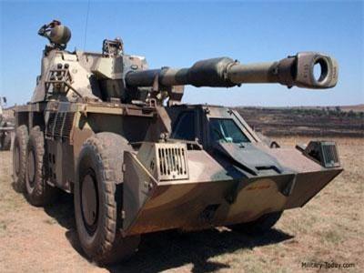Uy lực pháo tự hành 'Tê giác' G6 Rhino của Nam Phi