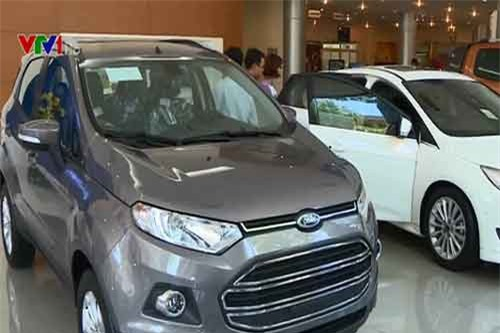 Đề xuất giảm thuế VAT ô tô nội địa