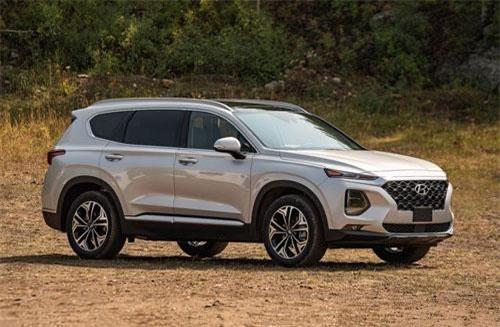 Top 10 xe SUV đáng mua nhất trong tầm giá dưới 35.000 USD: Hyundai Santa Fe góp mặt
