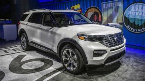 2020 Ford Explorer chốt giá bán, cao nhất gần 1,4 tỷ đồng