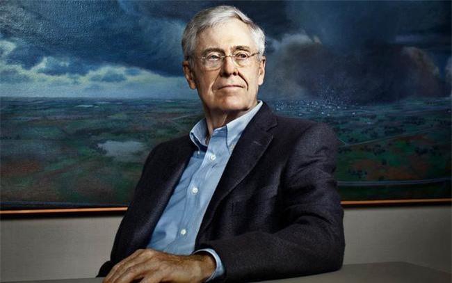 Con đường thành tỷ phú của Charles Koch - chủ tịch công ty tư nhân lớn thứ 2 Mỹ