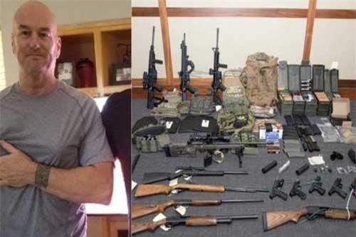 Mỹ bắt 1 lính hải quân âm mưu giết người hàng loạt