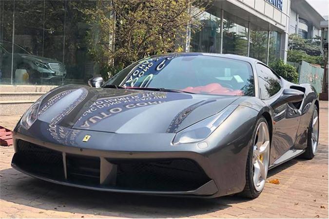 Siêu xe Ferrari 488 GTB cũ của Cường Đô la chỉ 7,3 tỷ