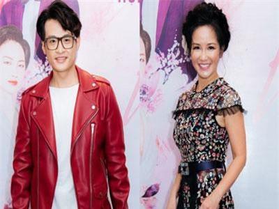 'Nàng Bống' Hồng Nhung điệu đà váy xuyên thấu, lần đầu hợp tác cùng Hà Anh Tuấn