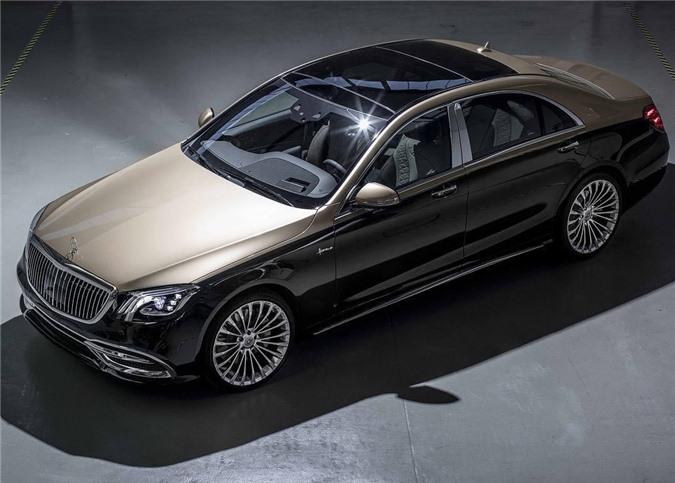 """Ngắm Mercedes-Benz S-Class độ """"chảnh"""" như Maybach"""