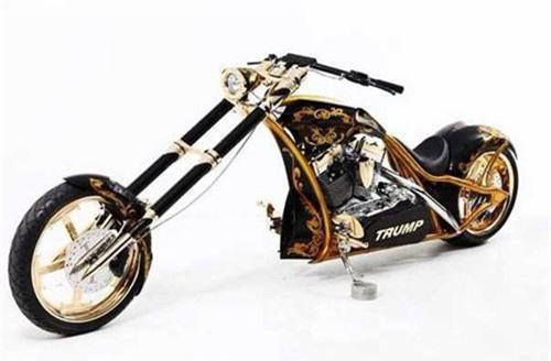 """Mê mẩn chiếc chopper """"toàn vàng"""" của Tổng thống Mỹ"""