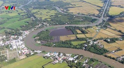 Hậu Giang: Khoảng 50.000 ha đất nông nghiệp có nguy cơ bị ảnh hưởng do xâm nhập mặn