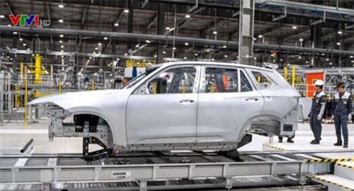 Ngày 6/3, chiếc xe đầu tiên của VinFast sẽ được chạy thử