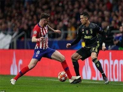 Atletico 2-0 Juventus: Chiến thắng thuyết phục