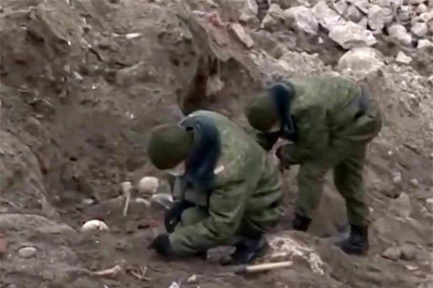 Phát hiện mộ tập thể 1.000 người Do thái bị Đức Quốc xã giết hại