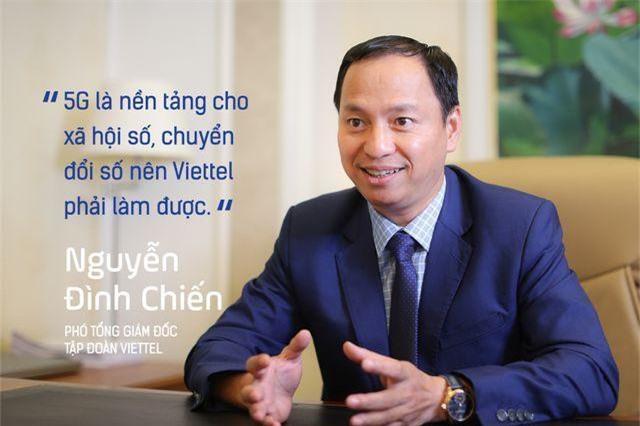 Phó Tổng giám đốc Tập đoàn Viettel: Sản xuất thiết bị 5G là việc phải làm cho bằng được!