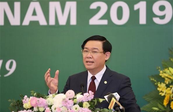 Phó Thủ tướng Vương Đình Huệ đánh giá TTCK Việt Nam 2018 đã vượt khó và thành công.