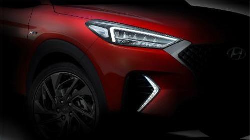 SUV mới Hyundai Tucson N Line lộ diện với cập nhật sang trọng
