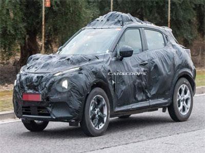 Hé lộ Nissan Juke 2020: Khung gầm mới, thiết kế cũ