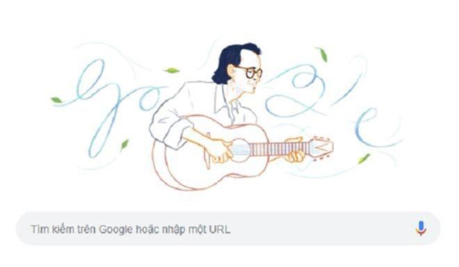 Cố nhạc sĩ Trịnh Công Sơn là người Việt Nam đầu tiên được Google Doodles vinh danh - Ảnh 1.