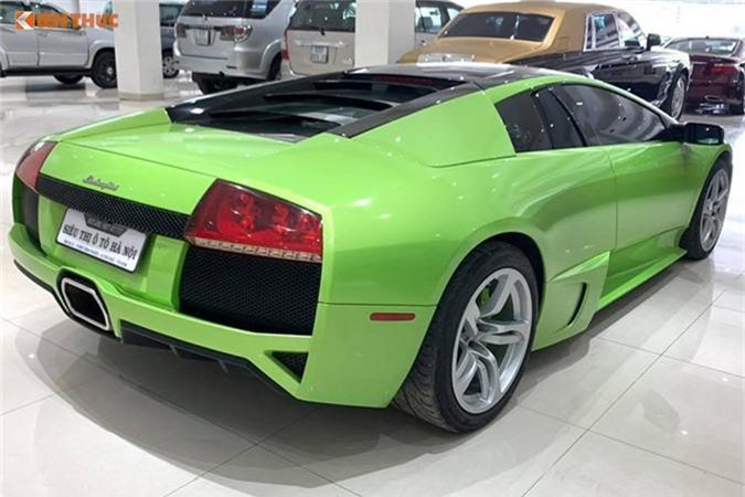 Sieu xe Lamborghini Murcielago hang doc gia 9,8 ty tai Sai Gon-Hinh-4