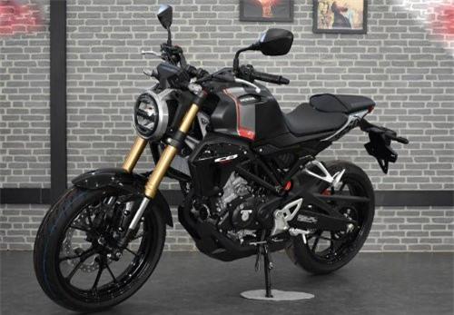 2019 Honda CB150R Streetster.