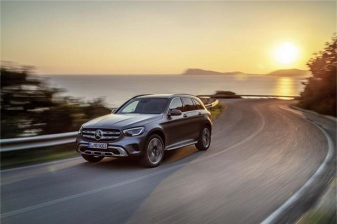 Mercedes-Benz GLC 2020.