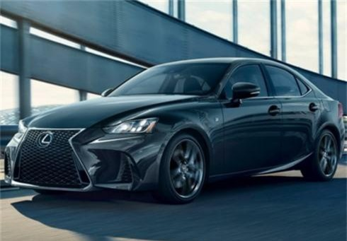 Lexus IS 300 F Sport.