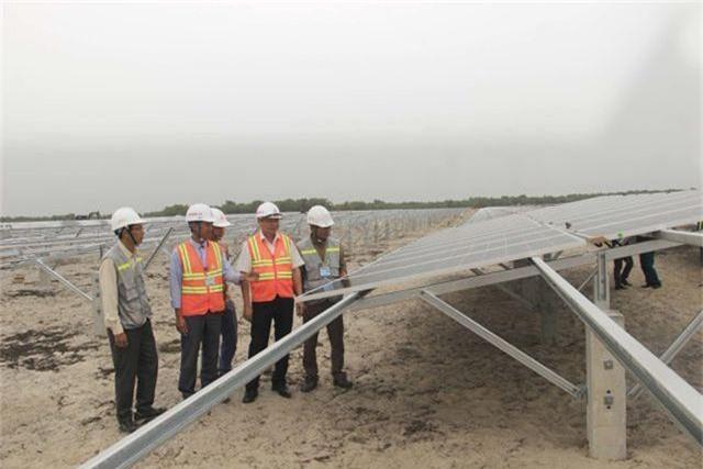 """Dự án điện mặt trời ngàn tỷ, kỳ vọng """"biến cát trắng… đẻ ra tiền""""  - 1"""