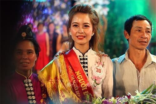Thí sinh dân tộc Thái Lò Thị Vui đăng quang cuộc thi Người đẹp Hoa Ban 2019