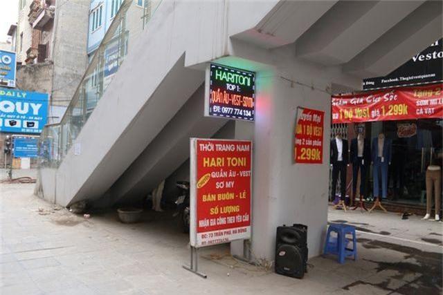 Nhiều chi tiết nhà ga tàu điện Cát Linh - Hà Đông đã hư hỏng - 14