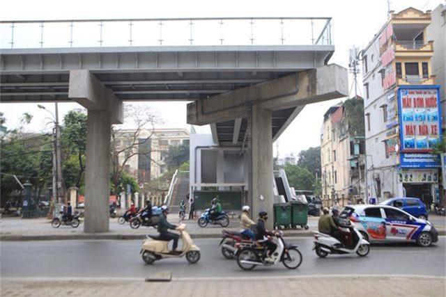 Nhà ga tàu điện Cát Linh - Hà Đông bóng loáng trước ngày vận hành - 12