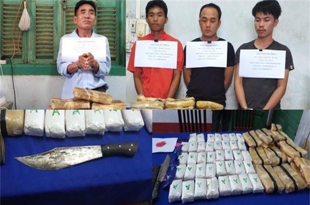 Giám đốc An ninh Lào thăm chiến sĩ biên phòng Việt Nam bị thương trong chuyên án bắt ma túy - 2
