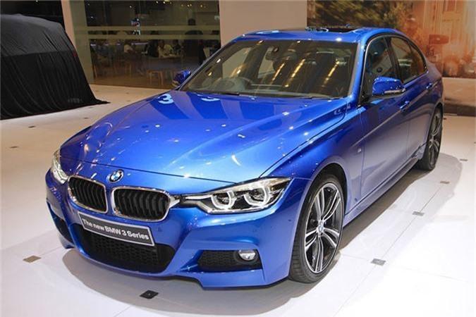BMW 3-Series 2019 gia 2,1 ty tai Thai, sap ve Viet Nam
