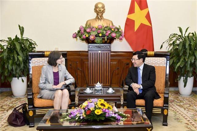 Phó Thủ tướng Phạm Bình Minh tiếp Đại sứ Canada Deborah Paul chào xã giao - Ảnh 2.