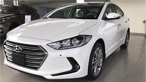Hyundai Elantra đời 2018.