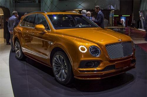 Bentley Bentayga Speed 2020.