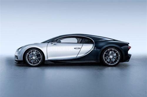 4. Bugatti Chiron.