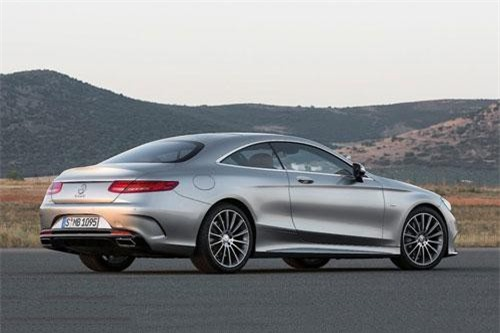 9. Mercedes-Benz S-Class Coupe.