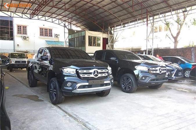 Ban tai hang sang Mercedes-Benz X-Class dau tien ve Viet Nam