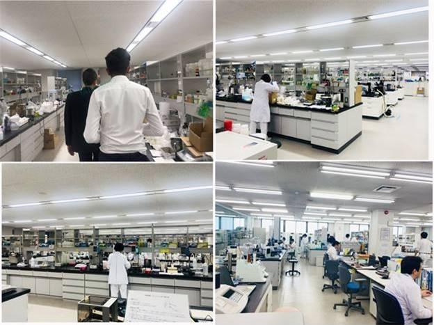 Phòng nghiên cứu sản xuất Tatu Group tại Nhật Bản