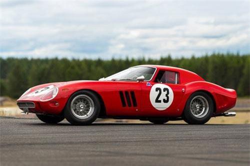 10. Ferrari 250 GTO 1962.
