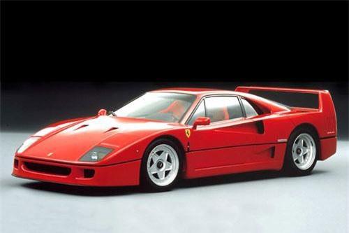 4. Ferrari F40.