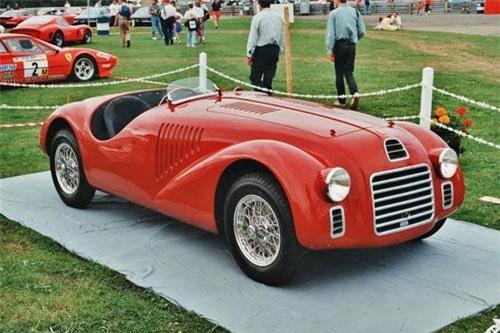 5. Ferrari 125 S.