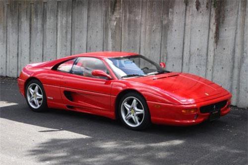 9. Ferrari F355 (1994-1999).