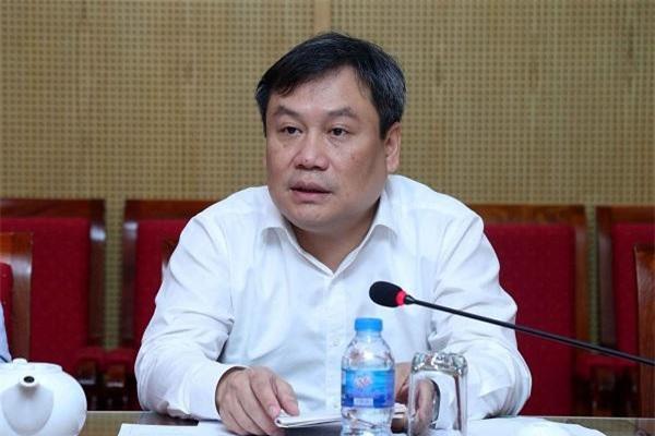 Thứ trưởng Vũ Đại Thắng phát biểu tại cuộc họp. (Ảnh: MPI)