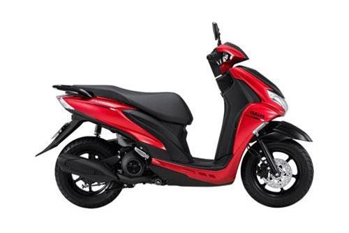 Ngắm Yamaha FreeGo màu đỏ, giá 32,99 triệu ở Việt Nam